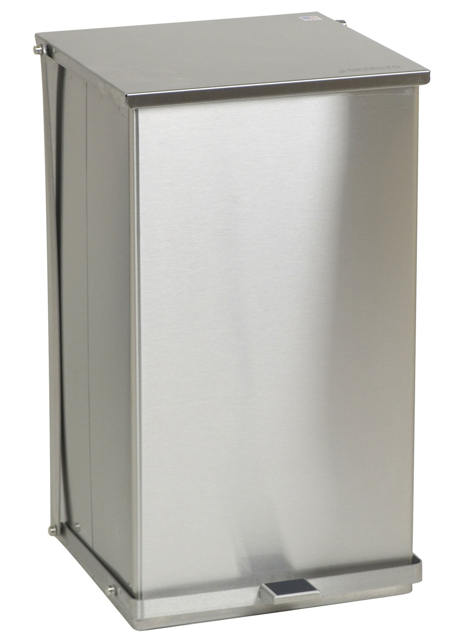 Stainless Steel Step-On Can - 100 Qt