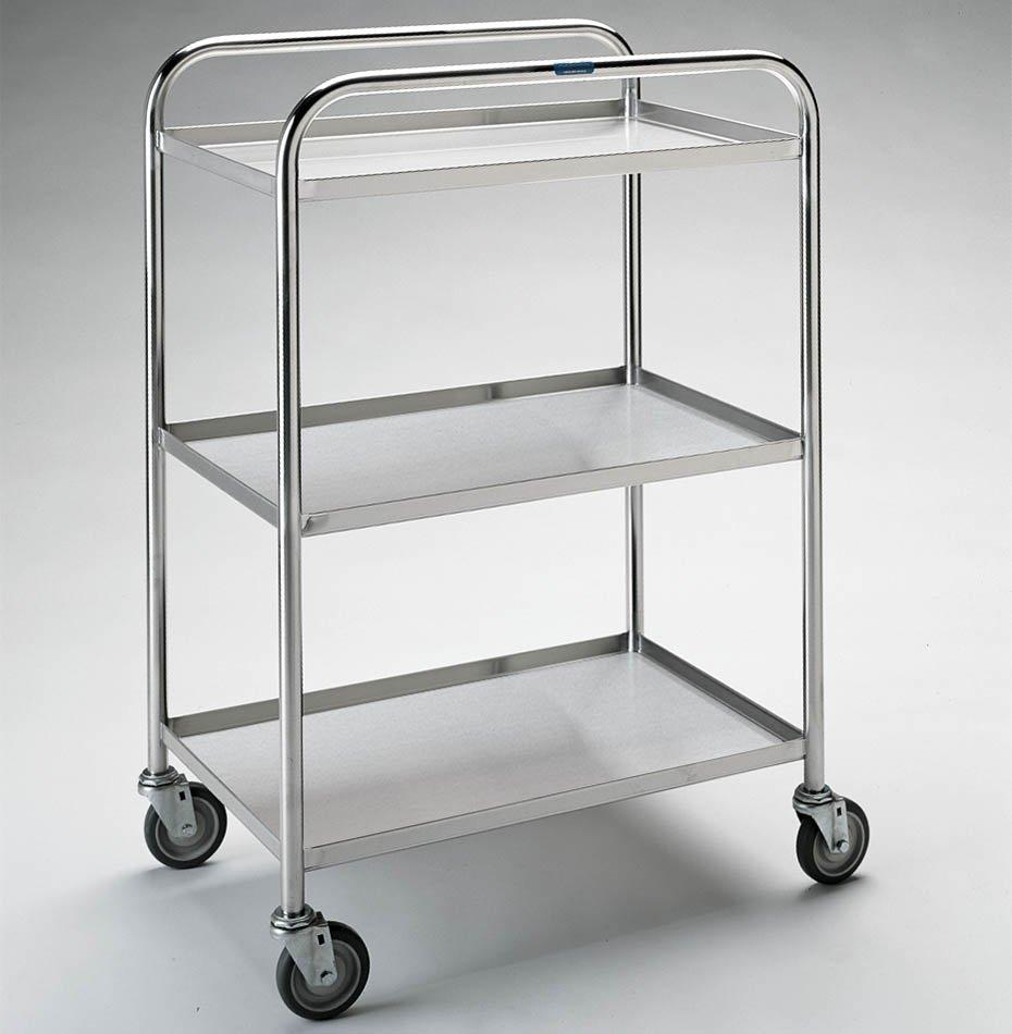 Pedigo Lightweight Stainless Utility Cart