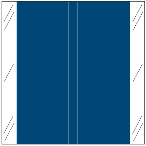 Tabbies 11600 Match CLLM Series Solid Color Roll Labels - Dark Blue
