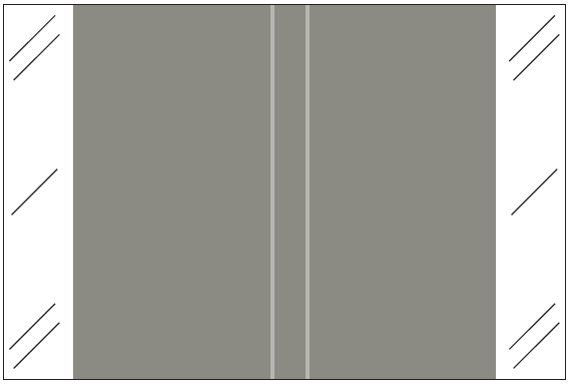 Tabbies 11100 Match CRLM Series Solid Color Roll Labels - Gray