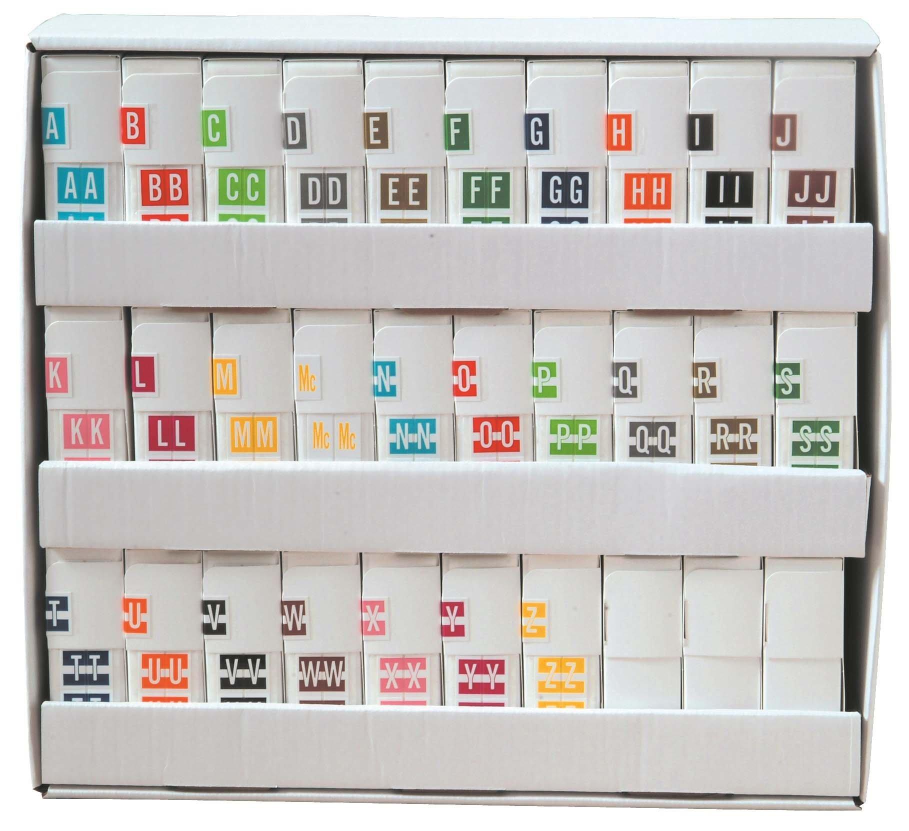 Tabbies 12030 Match CXAM Series Alpha Roll Labels A-Z Set