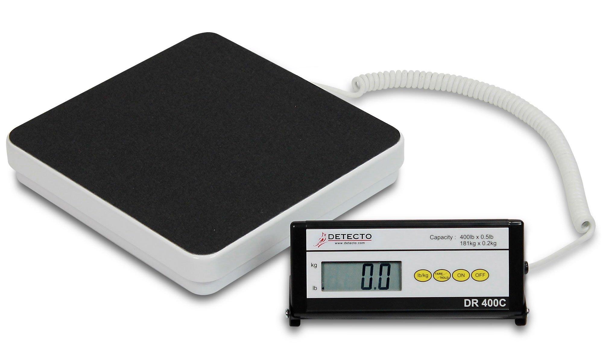 Portable Digital Visiting Nurse Scale - 400lb Capacity