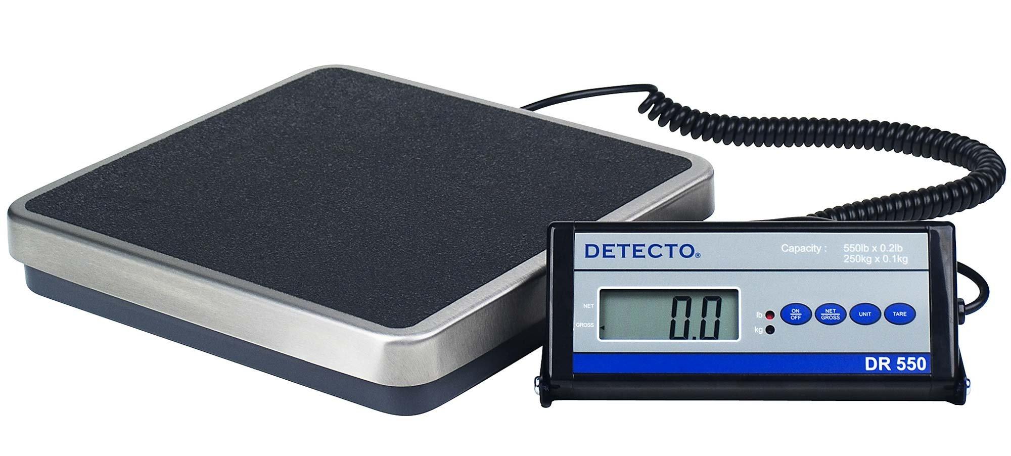 Portable Digital Visiting Nurse Scale - 550 lb Capacity