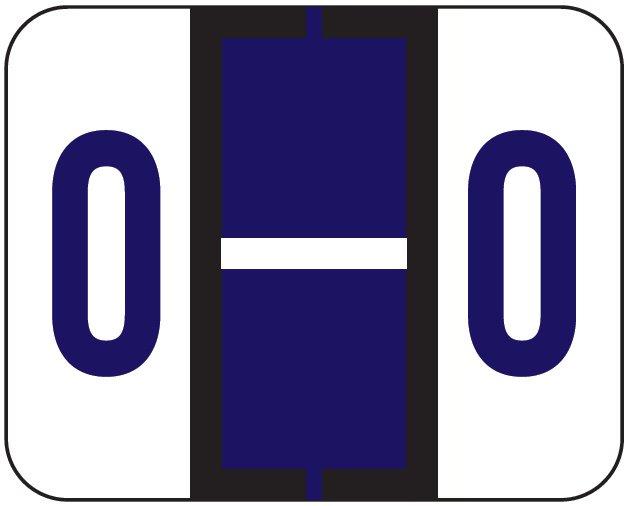File Doctor Match FDAV Series Alpha Roll Labels - Letter O - Purple