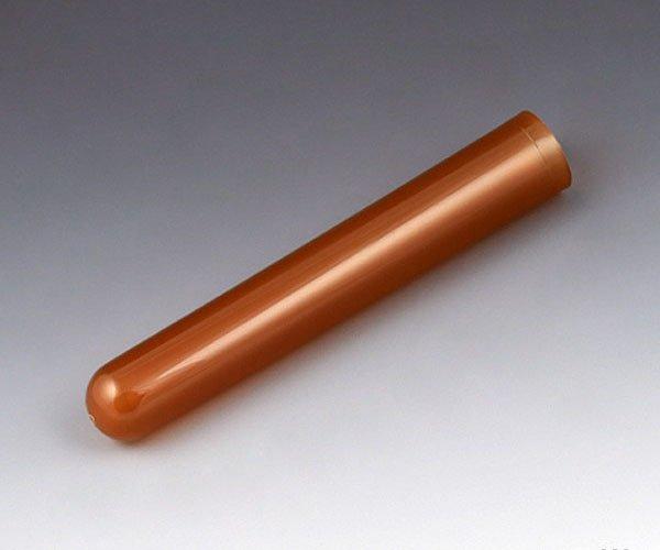 12mm x 75mm (5mL) Polypropylene Test Tubes - Round Bottom - Amber - Case of 2000 (1000/Bag, 2 Bags/Case) - BACKORDER UNTIL 11/15/21