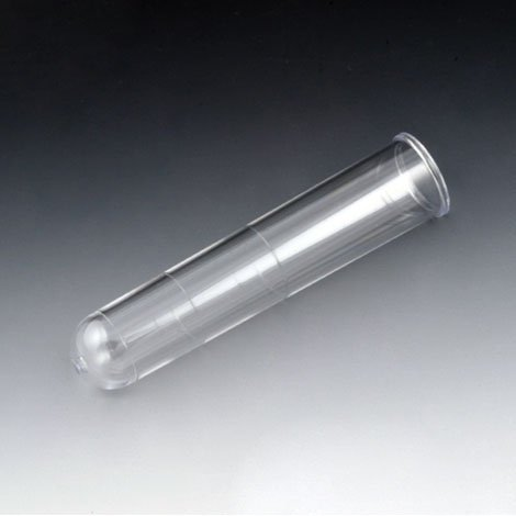 16mm x 75mm (8mL) Test Tubes with Rim - Graduated - Polystyrene - Case of 2500