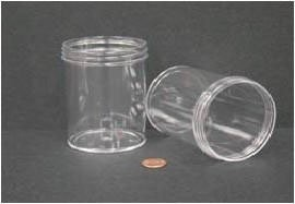 240mL (8oz) Wide Mouth Jar with 70mm Opening - 2 7/16