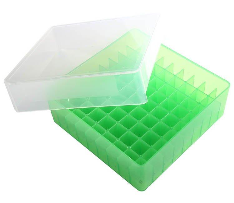 HS 81-Well Microtube Storage Box - Green