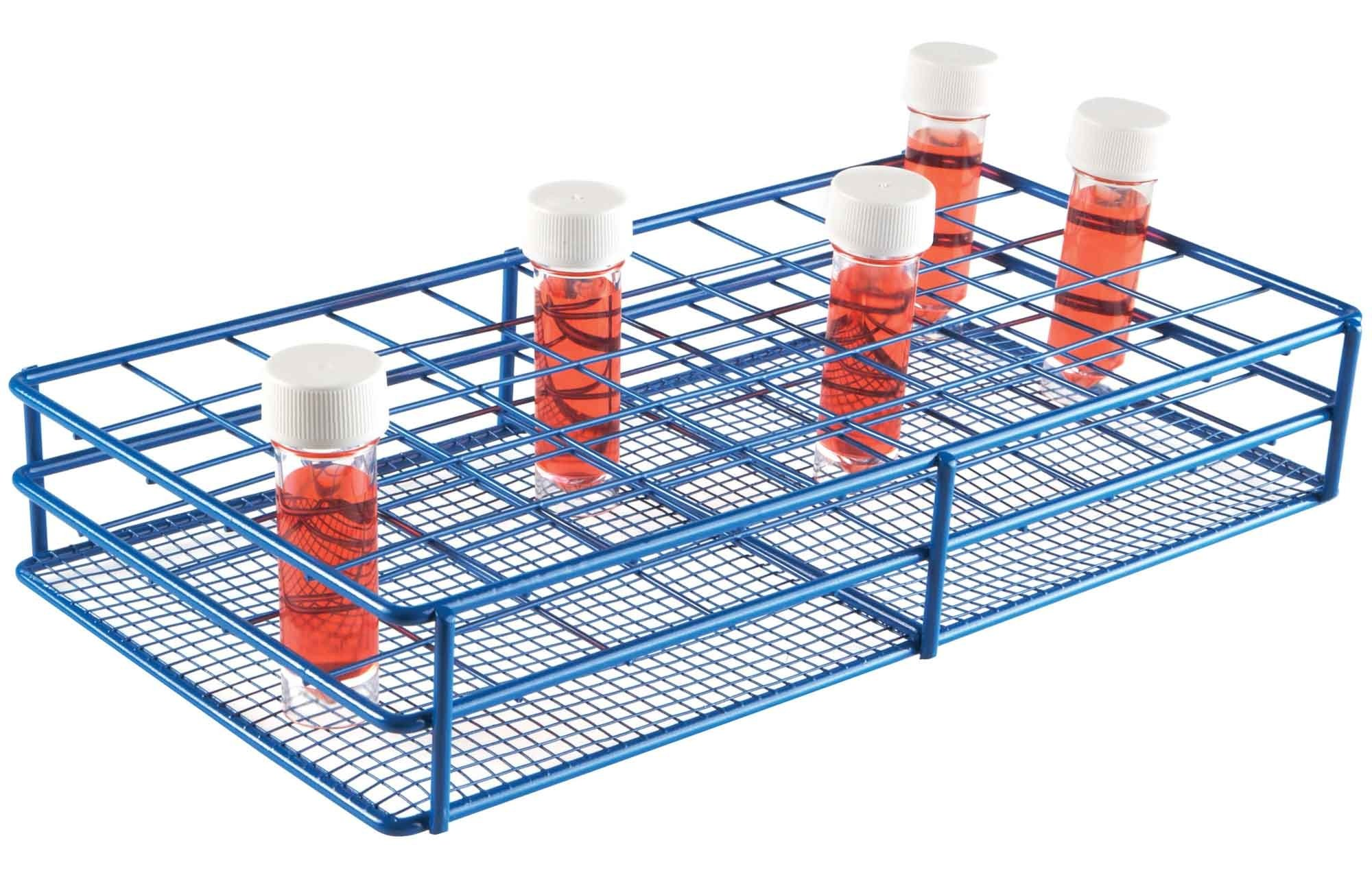 HS Universal Bottle/Tube Wire Racks - 33mm Diameter Well - 5x10 format