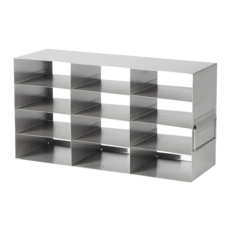 Horizontal Stainless Steel Freezer Rack For 2