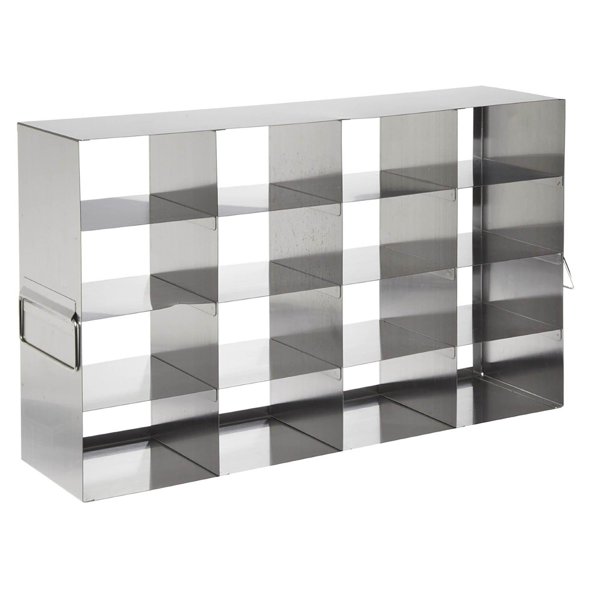 Horizontal Stainless Steel Freezer Rack For 3