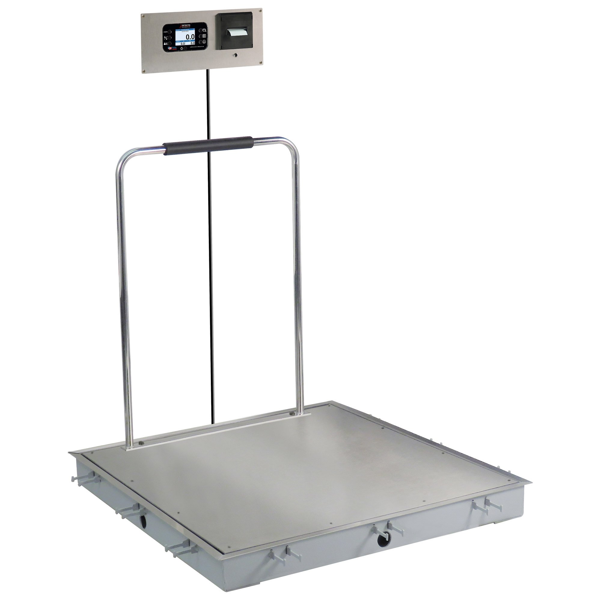 Solace In-Floor Dialysis Scale with Hand Rail - 36
