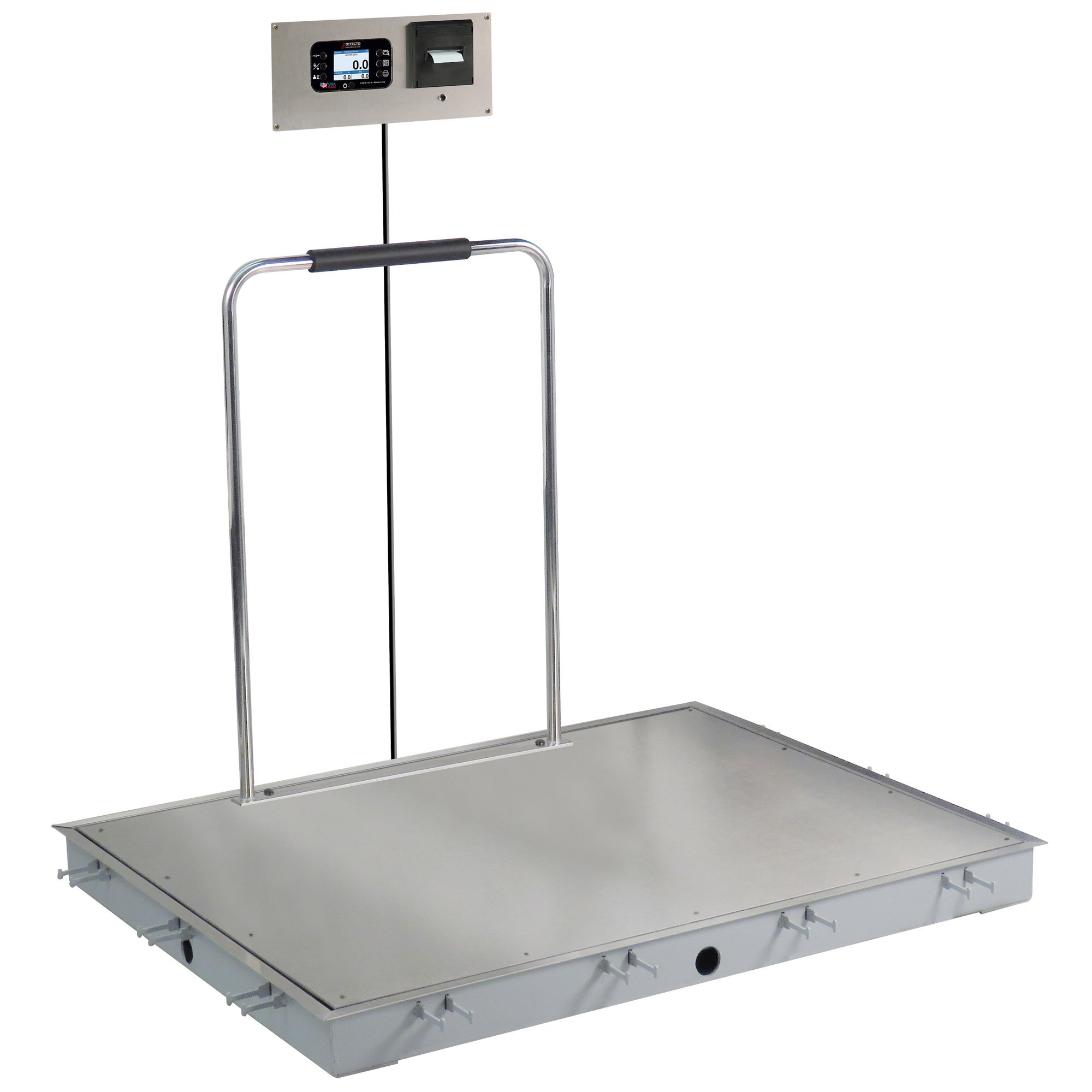 Solace In-Floor Dialysis Scale with Hand Rail - 48