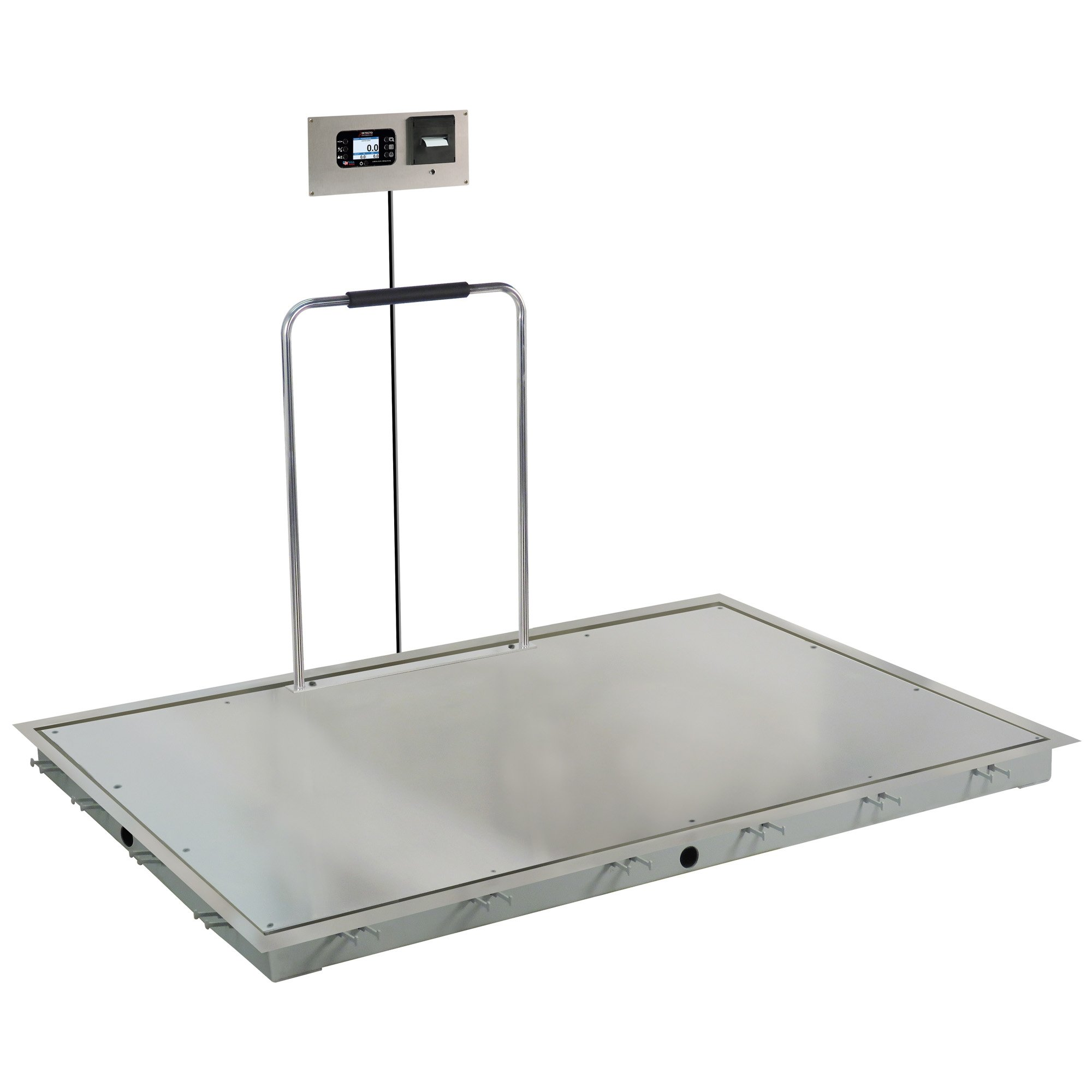Solace In-Floor Dialysis Scale with Hand Rail - 72