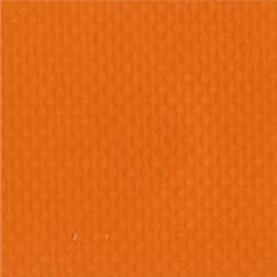 1-Piece Impervious Vinyl Strap with Metal Roller Friction Buckle - 9' - Orange