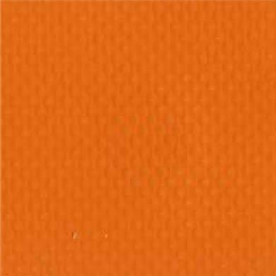 2-Piece Impervious Vinyl Strap with Metal Push Button Buckle & Loop-Lok Ends - 7' - Orange