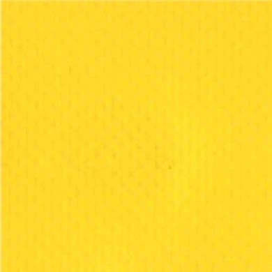 2-Piece Impervious Vinyl Strap with Metal Push Button Buckle & Metal Roller Loop Ends - 7' - Yellow