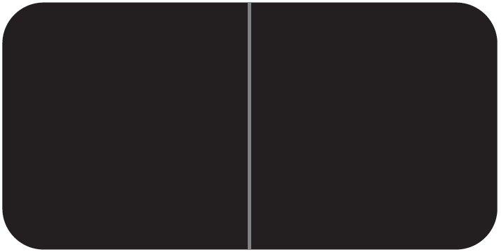 Jeter 9500 Match JTLM Series Solid Color Roll Labels - Black