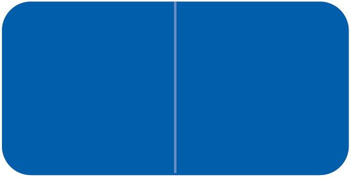 Jeter 9500 Match JTLM Series Solid Color Roll Labels - Blue