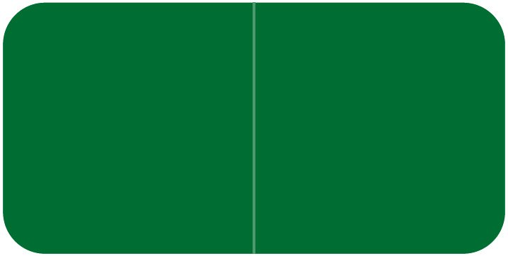 Jeter 9500 Match JTLM Series Solid Color Roll Labels - Green