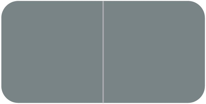 Jeter 9500 Match JTLM Series Solid Color Roll Labels - Gray