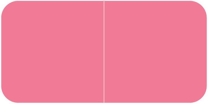 Jeter 9500 Match JTLM Series Solid Color Roll Labels - Pink