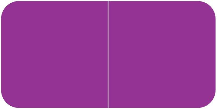 Jeter 9500 Match JTLM Series Solid Color Roll Labels - Purple