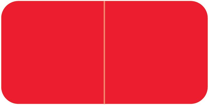Jeter 9500 Match JTLM Series Solid Color Roll Labels - Red