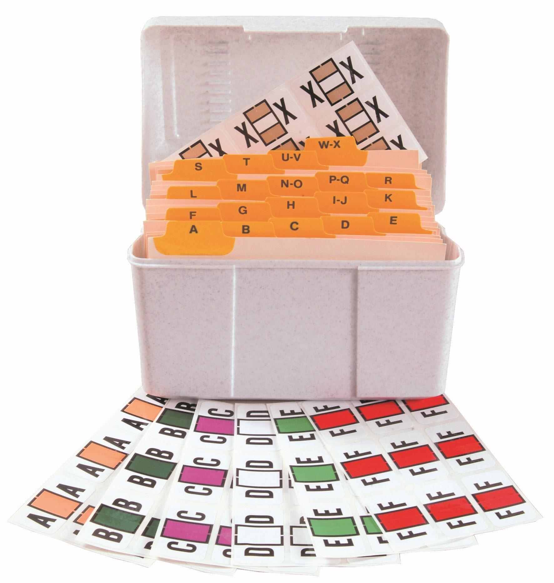Jeter 7100 Match JTPK Series Alpha Sheet Labels - Desk Set