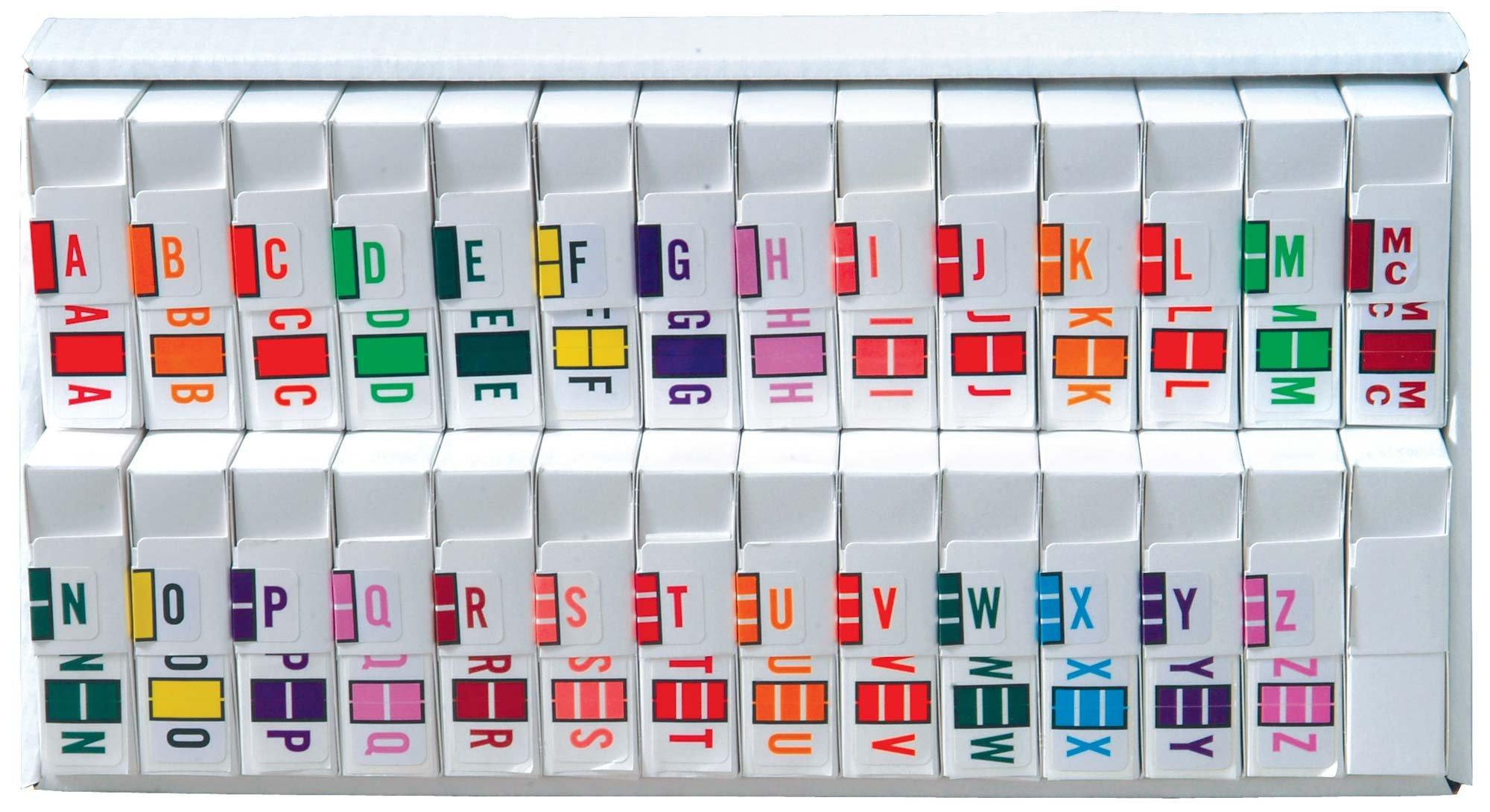 Jeter 5190 Match JXAM Series Alpha Roll Labels A-Z Set