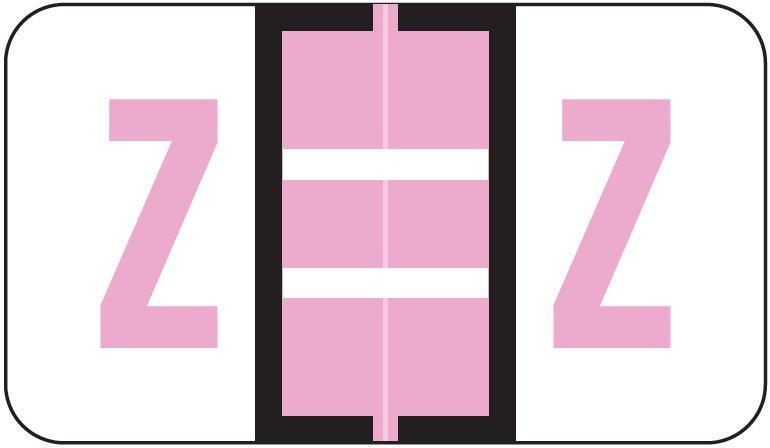 Jeter 5190 Match JXAM Series Alpha Roll Labels - Letter Z - Lavender