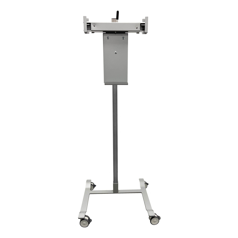 Mobile CR/DR Panel Holder with Tilt & Rotate Head, Horizontal Clamp Adjustment