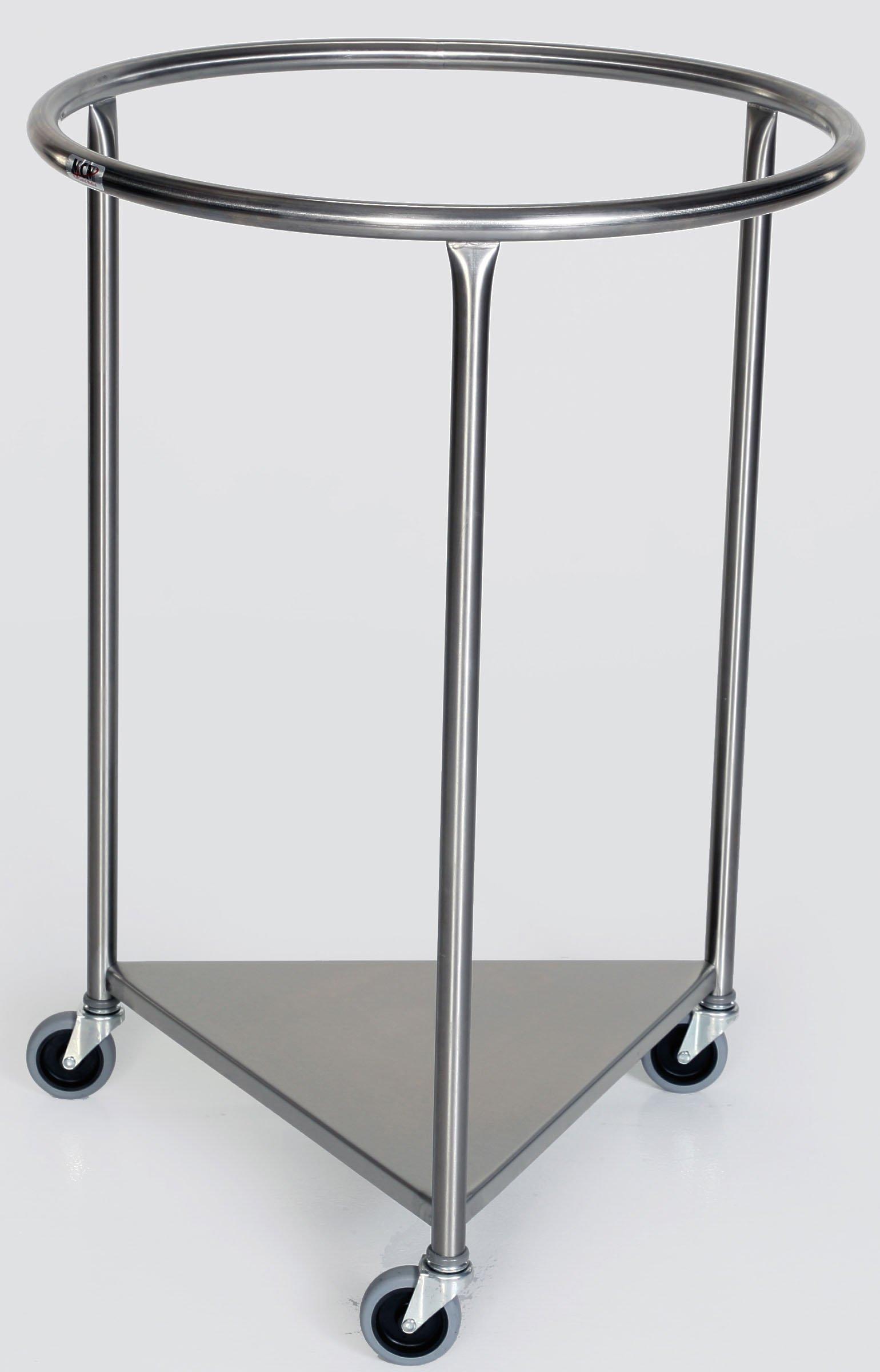 Stainless Steel Round Linen Hamper - 25