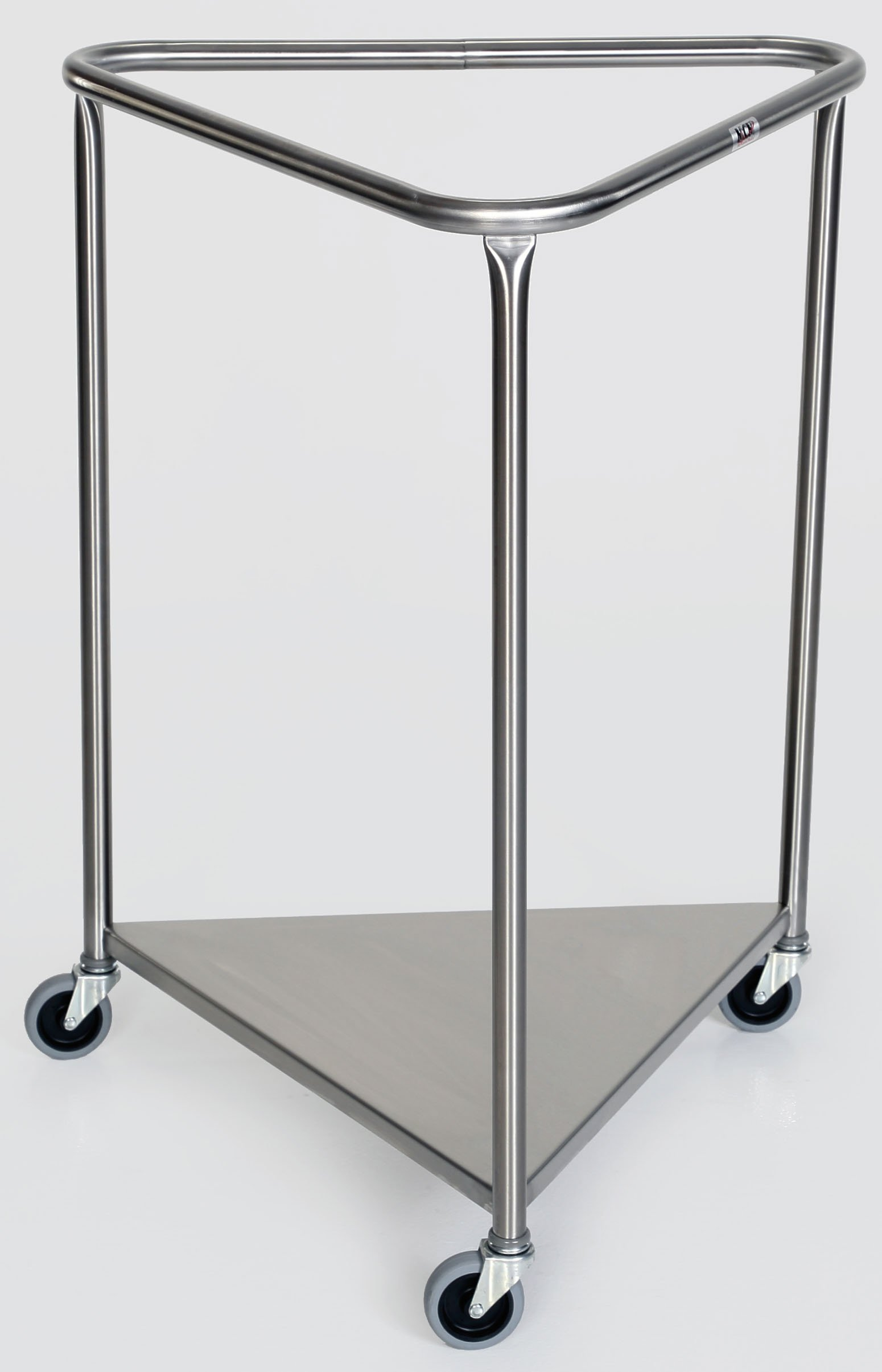Stainless Steel Triangular Linen Hamper - 78 5/8