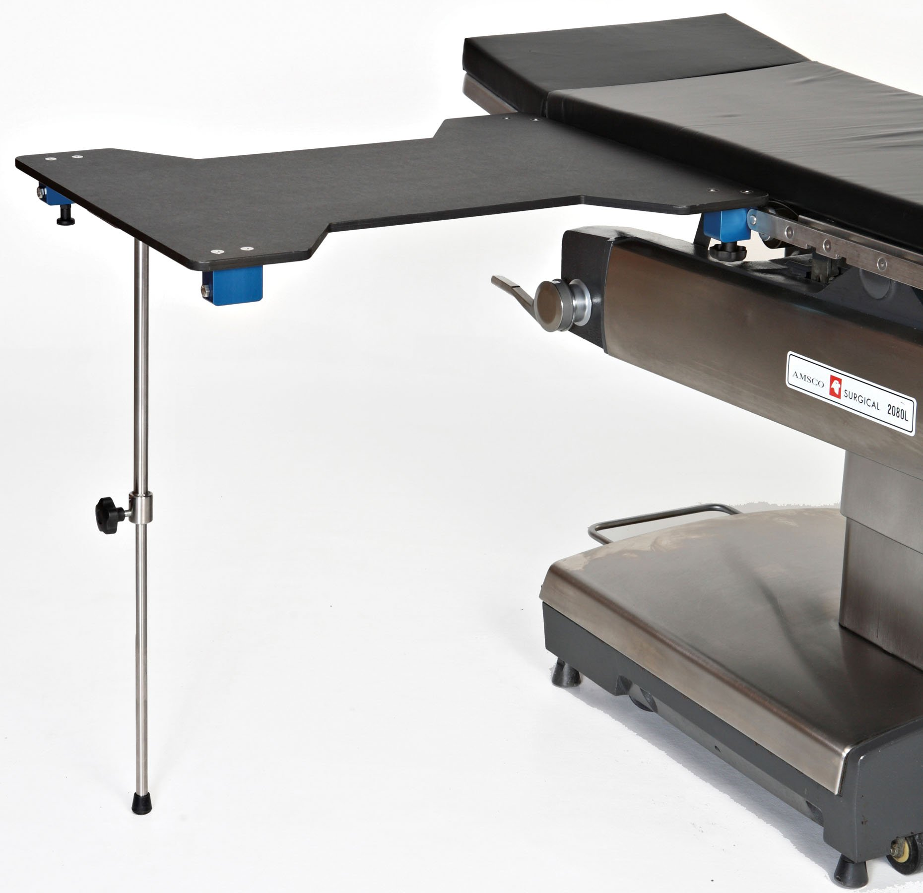 Hourglass Carbon Fiber Arm & Hand Surgery Table with Single Leg