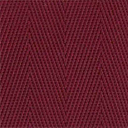 2-Piece Nylon Strap with Plastic Side Release Buckle & Loop-Lok Ends - 9' - Maroon