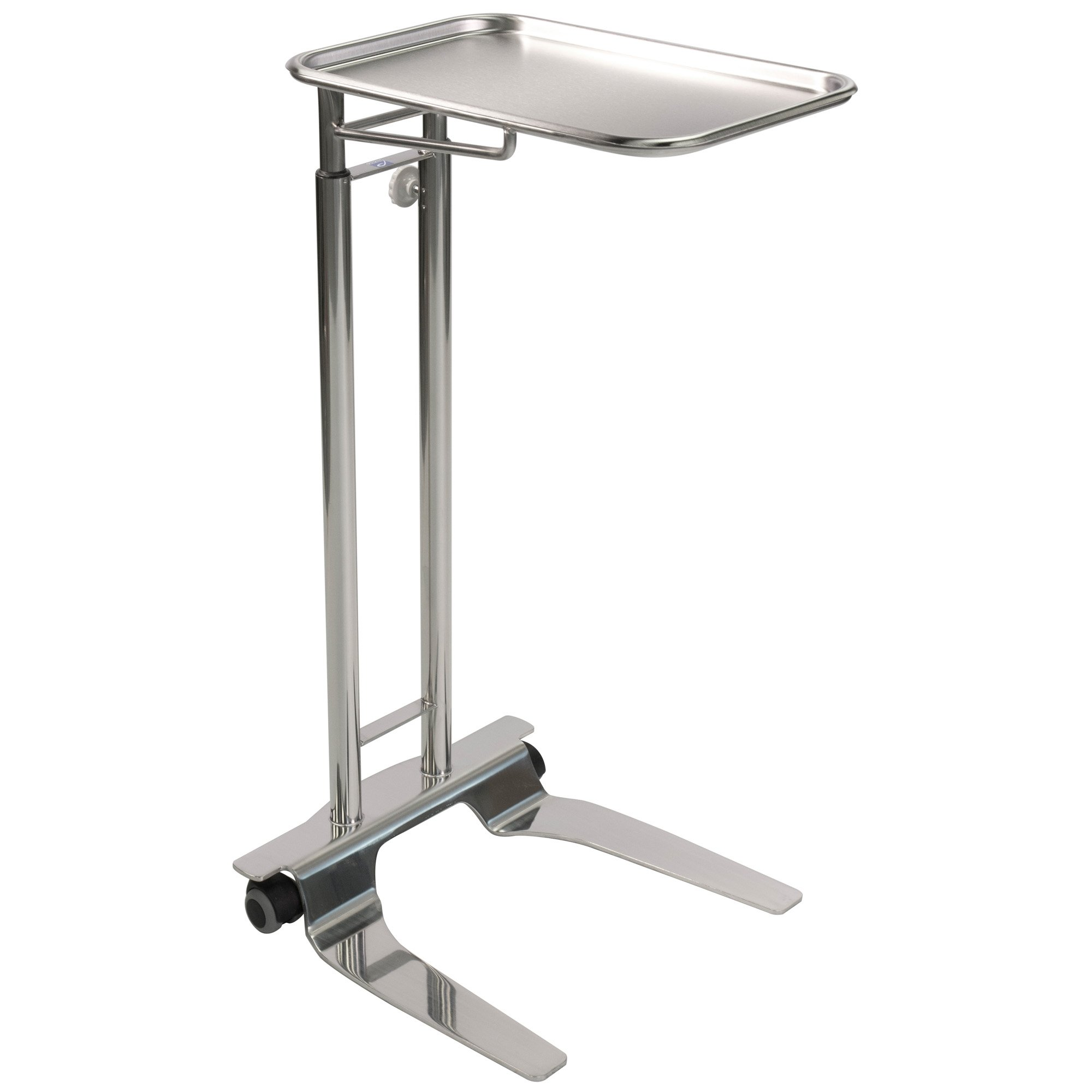 Pedigo SS Hand Operated Mayo Stand With 12 5/8