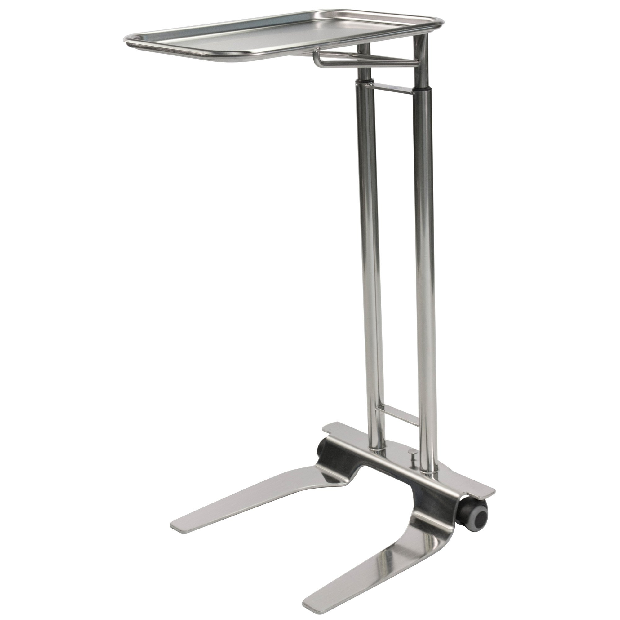 Pedigo SS Foot Operated Mayo Stand With 12 5/8
