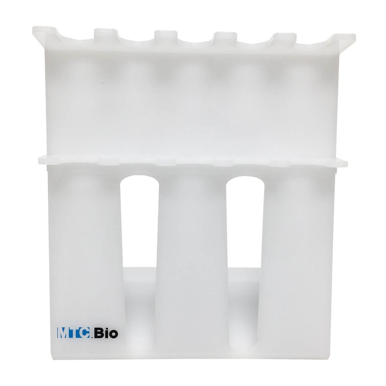 SureStand MultiChannel Capable 5-Place Acrylic Pipette Rack (Accepts 2 Multi-Channels)