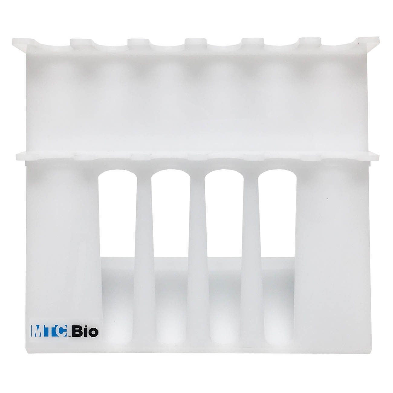 SureStand MultiChannel Capable 6-Place Acrylic Pipette Rack (Accepts 4 Multi-Channels)