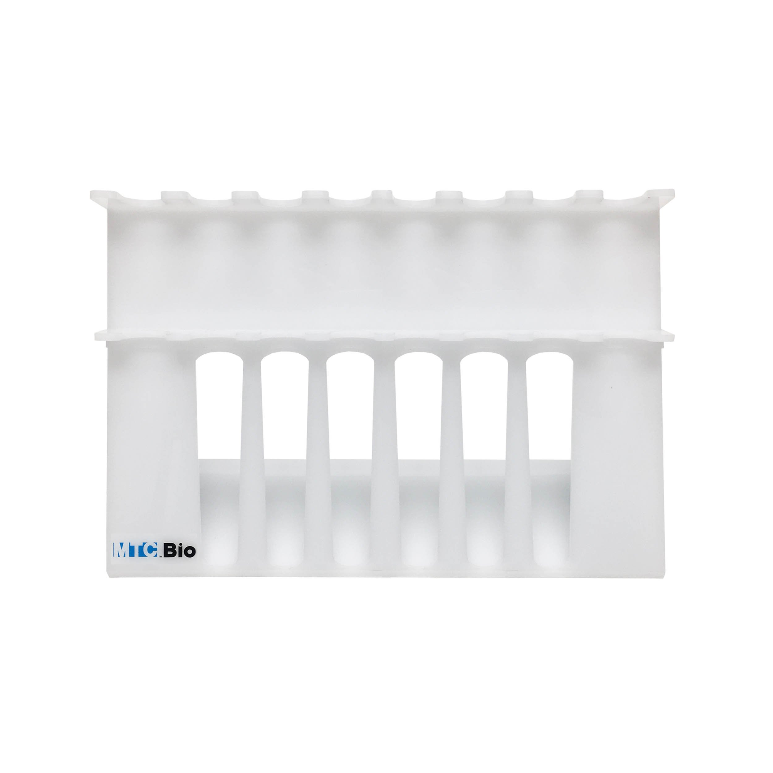 SureStand MultiChannel Capable Acrylic XL Pipette Rack for 8 Pipettes (Up to 6 Multi-Channels) - Pack of 1