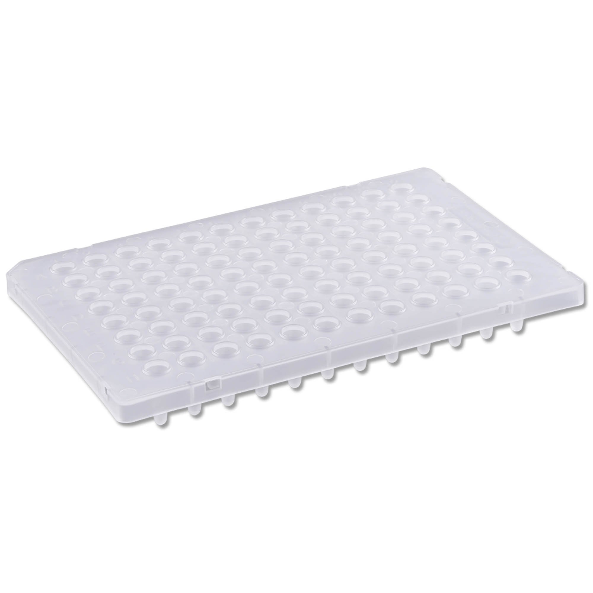 PureAmp Low Profile/Fast 96-Well x 0.1mL PCR Plates - Semi Skirted, Natural (10 Packs of 50 per Pack) - ON BACKORDER UNTIL 6/21/2021
