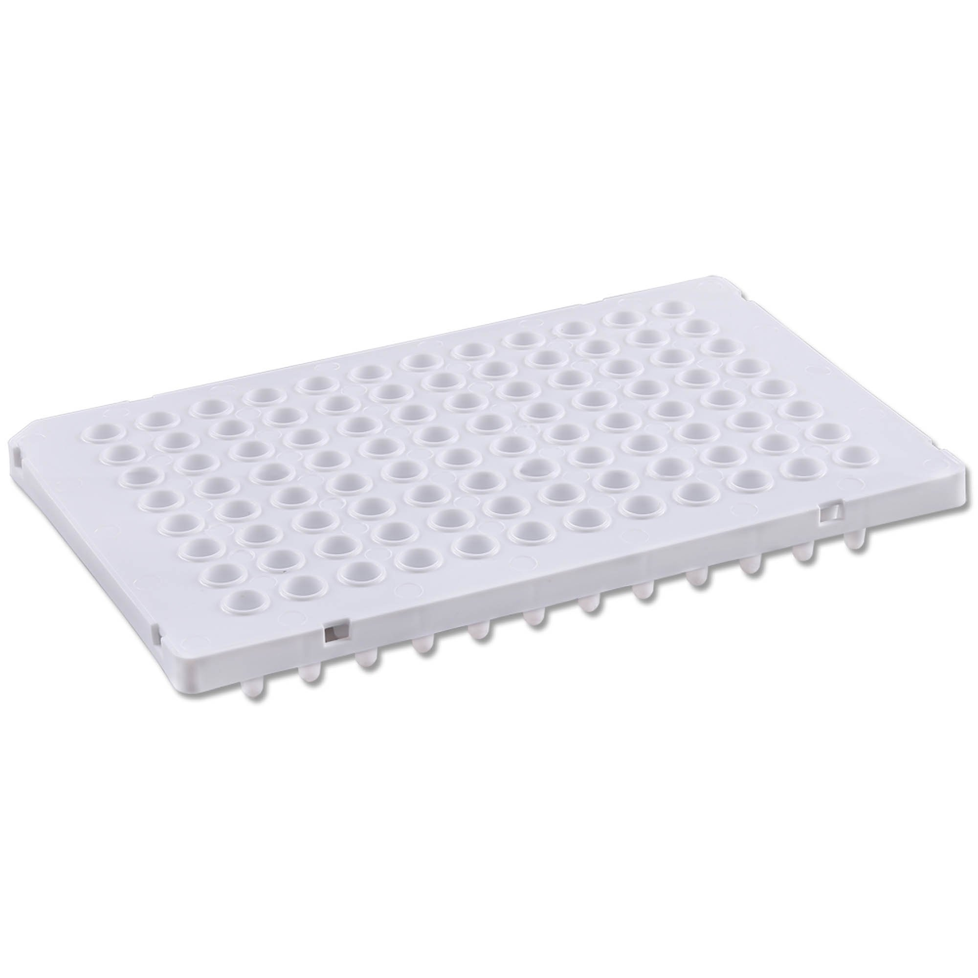 PureAmp Low Profile/Fast 96-Well x 0.1mL PCR Plates - Semi Skirted, White (10 Packs of 50 per Pack)