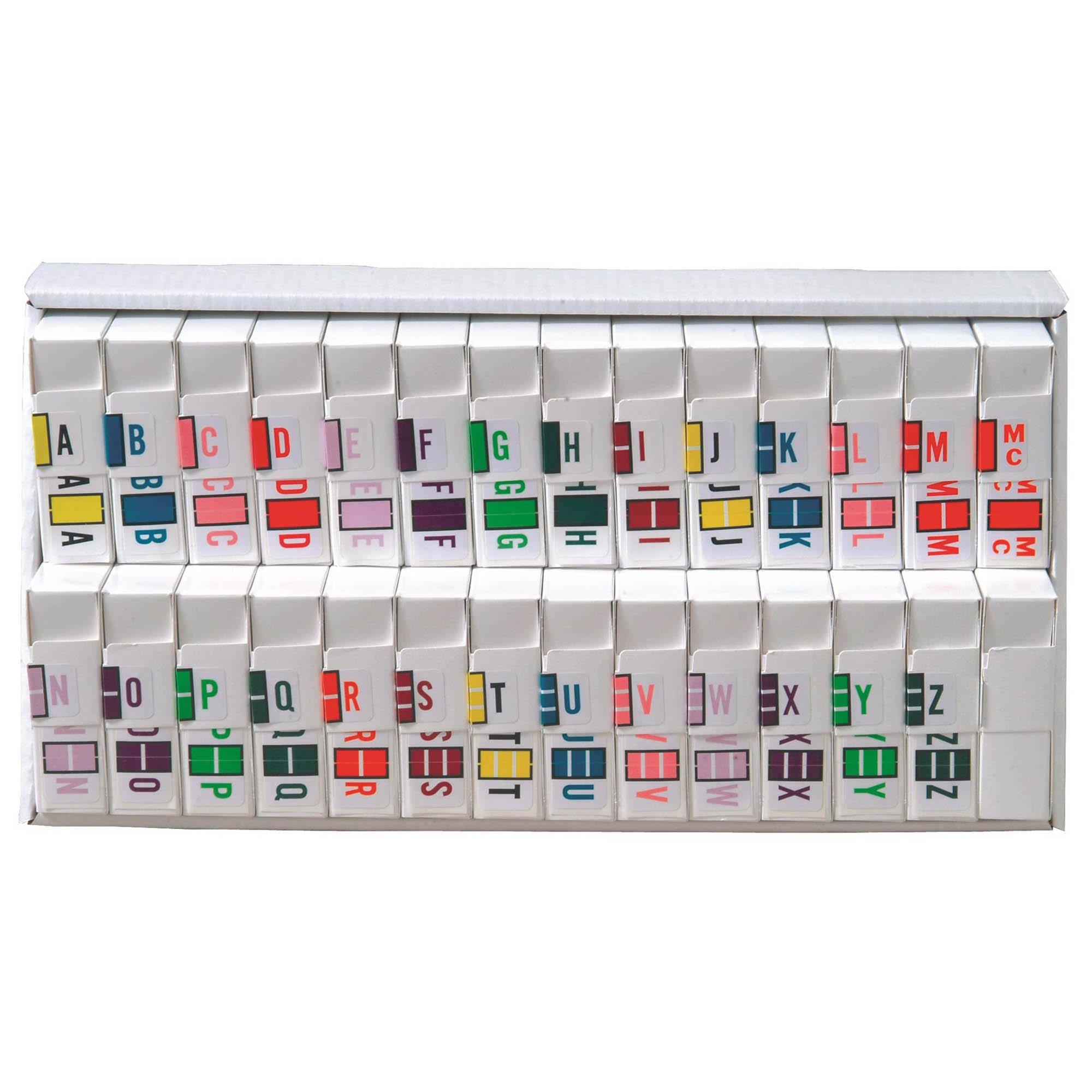 POS 3400 Match POAM Series Alpha Roll Labels A-Z Set