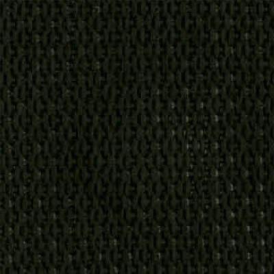 2-Piece Polypropylene Strap with Metal Push Button Buckle & Loop-Lok Ends - 5' - Black