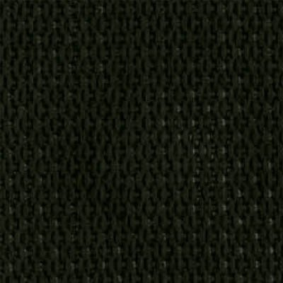 2-Piece Polypropylene Strap with Metal Push Button Buckle & Loop-Lok Ends - 7' - Black