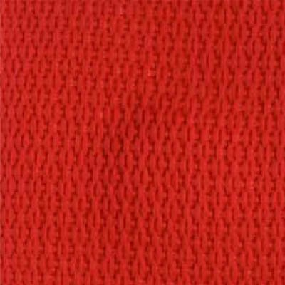 1-Piece Polypropylene Strap with Metal Roller Friction Buckle - 9' - Red