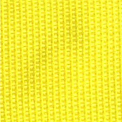 1-Piece Polypropylene Strap with Metal Drop Jaw Buckle - 9' - Yellow