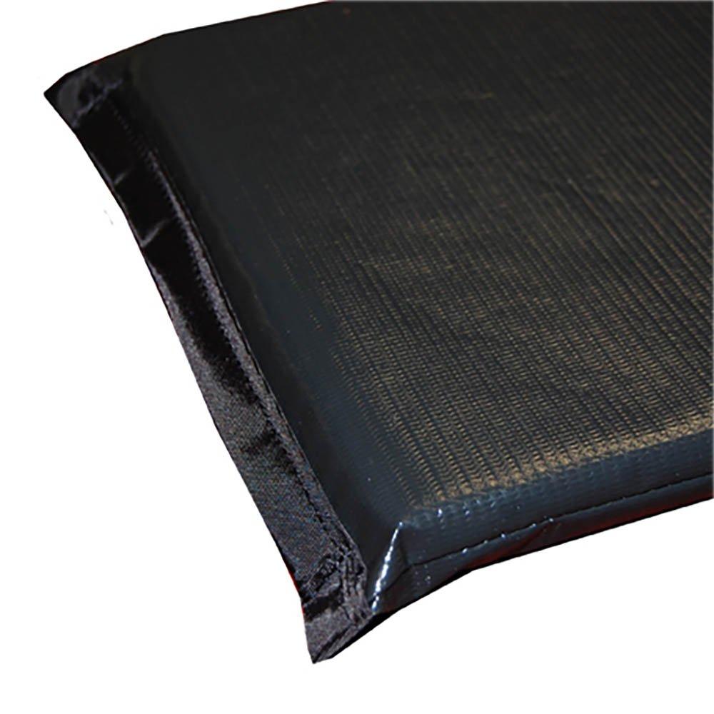 Standard Plus Radiolucent X-Ray Firm Foam Table Pad - Black Techno-Tuff Vinyl, No Grommets 80