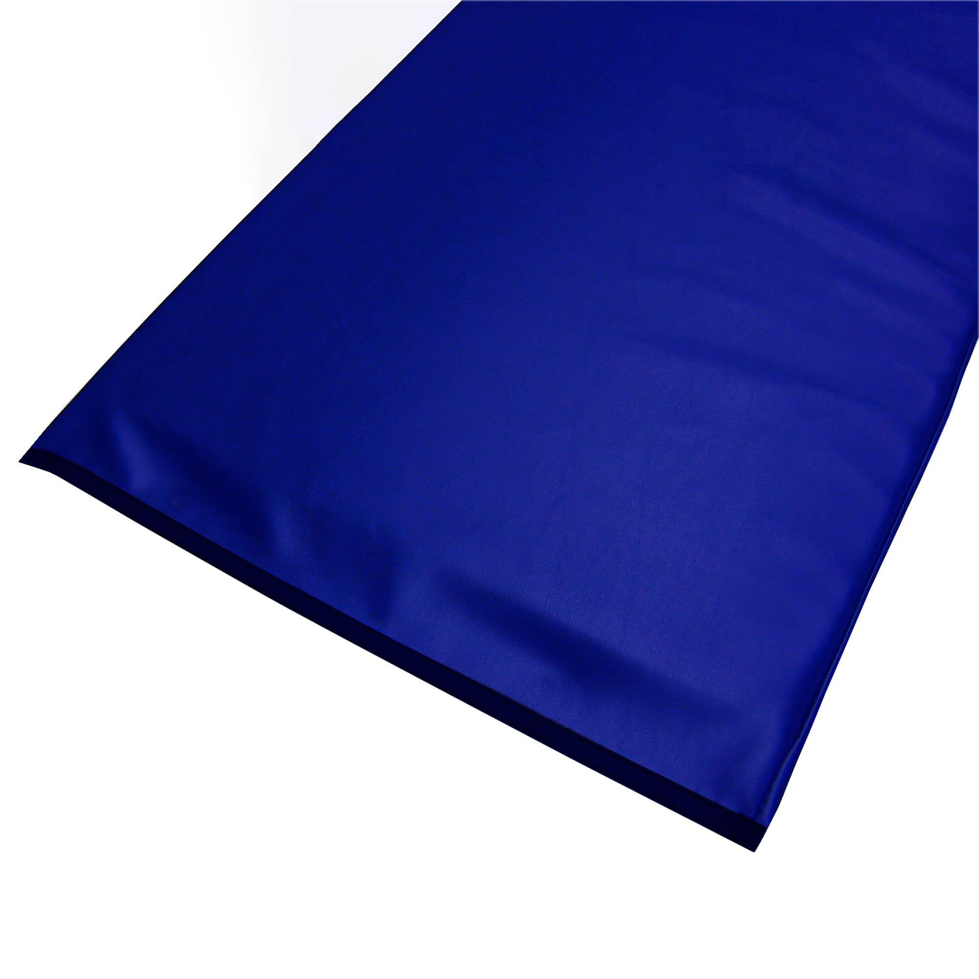 Standard Radiolucent X-Ray Firm Foam Table Pad - Blue Vinyl, No Grommets 72